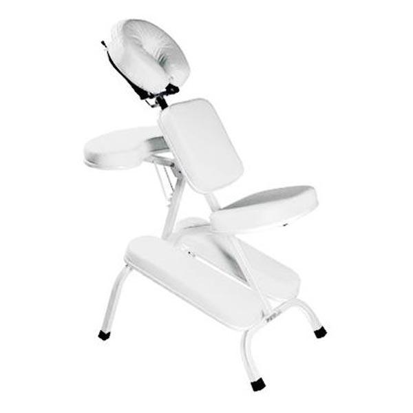 Cadeira de Quick Massage para Massagem Rápida e Shiatsu - Cor Branca - Legno