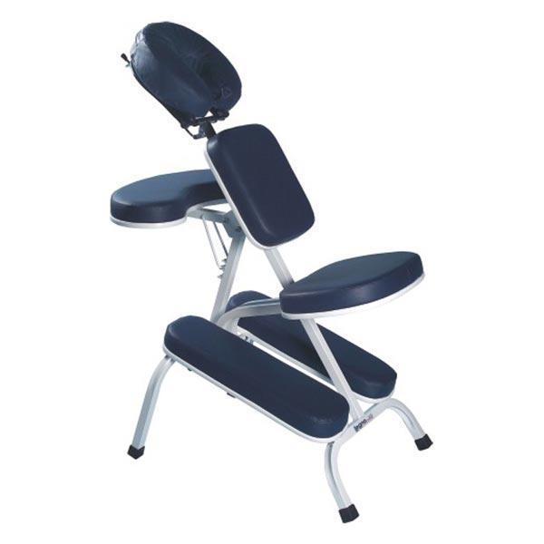 Cadeira de Quick Massage Azul Marinho - Legno