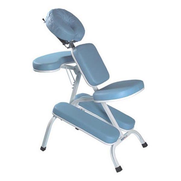 Cadeira de Quick Massage Azul Claro - Legno