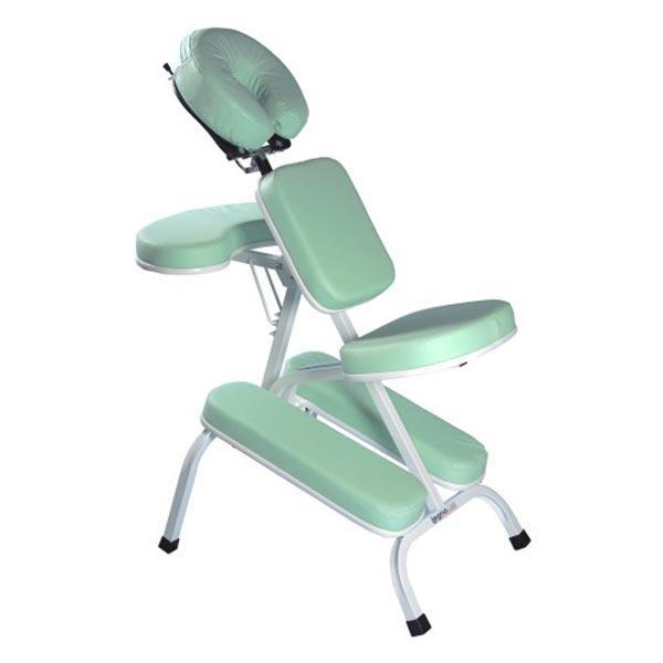 Cadeira de Quick Massage Verde Claro - Legno