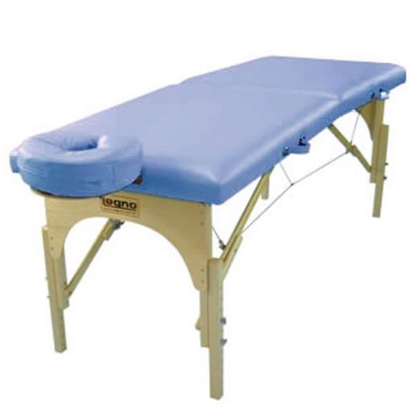 Sirius Azul Claro - Maca Portátil para Massagem
