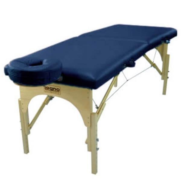 Sirius Azul Marinho - Maca Portátil para Massagem