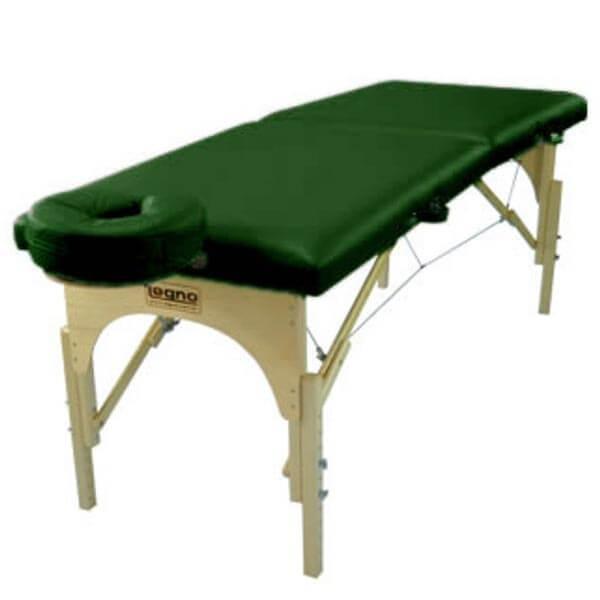 Sirius Verde Escuro - Maca Portátil para Massagem